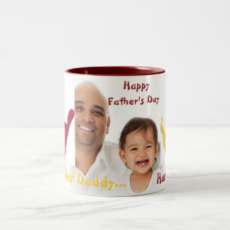 Father's Day Two-Tone Coffee Mug