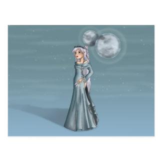 Fatima Three Moons Postcard