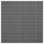 Faux Chainmail Black and Grey Mesh Look Fabric