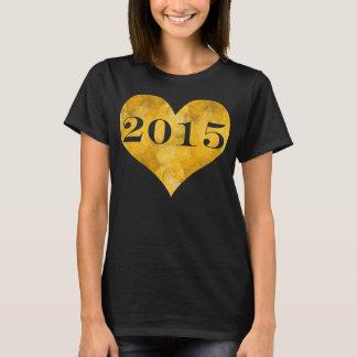 Faux Gold Foil Class of 2015 T-Shirt
