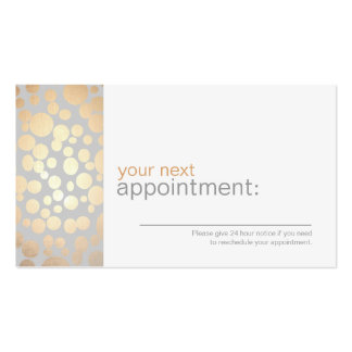 Browse the Appointment Business Cards Collection and personalise by colour, design or style.