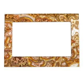 FAUX GOLD MAGNETIC FRAME