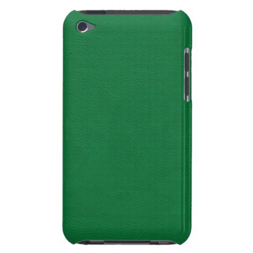 Faux Green Leather Barely There iPod Cover
