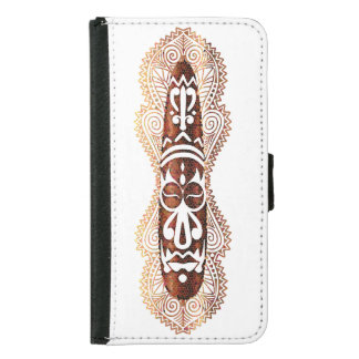 Faux Mosaic African Style Mask Case 3