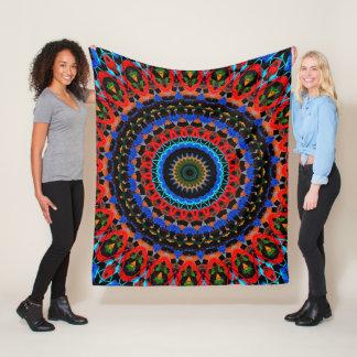 Favour Mandala Fleece Blanket