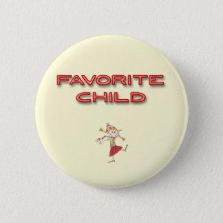 Favourite Child 6 Cm Round Badge
