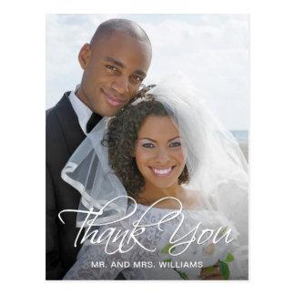 Favourite Wedding Photo Thank You Postcard