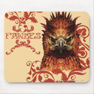 Fawkes Staring Mouse Pad
