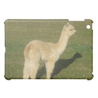 Fawn alpaca case for the iPad mini