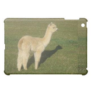 Fawn alpaca cover for the iPad mini