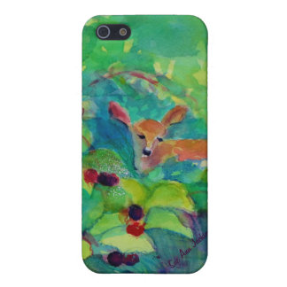 Fawn in the Raspberry Thicket Cover For iPhone 5/5S