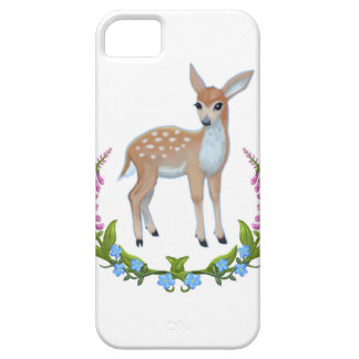Fawn with Foxgloves Iphone case