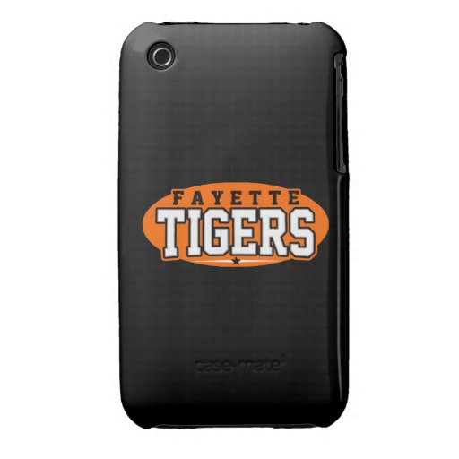 Fayette County High School; Tigers iPhone 3 Case