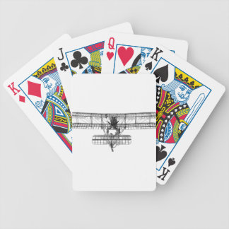 FE_2b_two_seater_biplane_model_RAE-O908 Bicycle Playing Cards