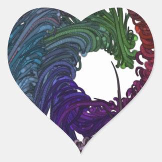 Fear Heart Sticker