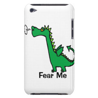 Fear Me Cartoon Dragon Barely There iPod Case