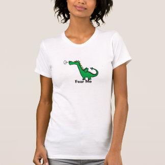 Fear Me Cartoon Dragon Tshirts