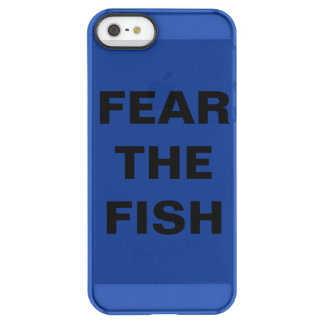 FEAR THE FISH phone case