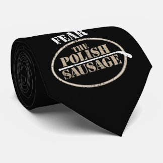 Fear the Polish Sausage (Hockey) Tie