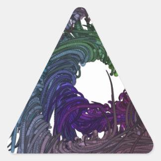 Fear Triangle Sticker