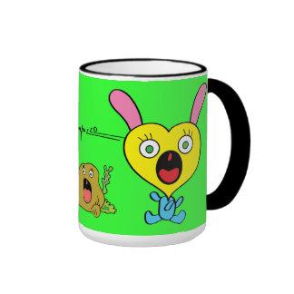 Fearful Mug-Rabbit
