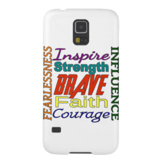 Fearlessness Courage Faith Etc...Word Picture Galaxy Nexus Cover