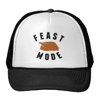 Feast Mode | Funny Thanksgiving Turkey Cap
