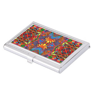 Feast of colors business card holders