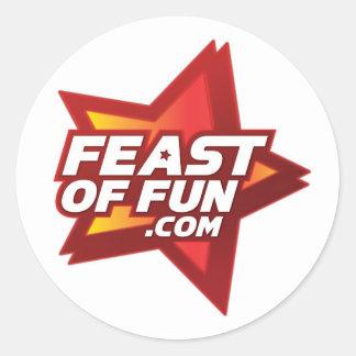Feast of Fun Sticker