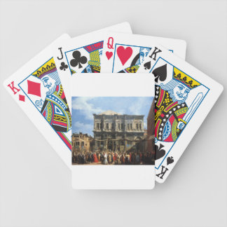 Feast of San Rocco by Canaletto Playing Cards
