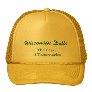 Feast of Tabernacle, Wisconsin Dells Mesh Hats
