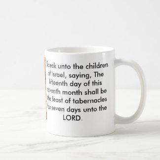 Feast of Tabernacles Bible  Verse Coffee Mug