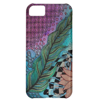 feather iPhone 5C case