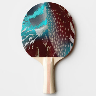 Feather Texture Template Ping Pong Paddle
