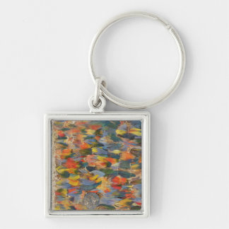 Feathered cape key ring