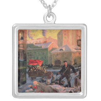 February 27, 1917, 1917 silver plated necklace