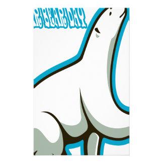 February 27th - Polar Bear Day Stationery