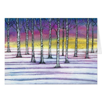 February Forest Card
