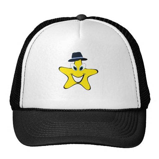 Fedora Star Cartoon Hat