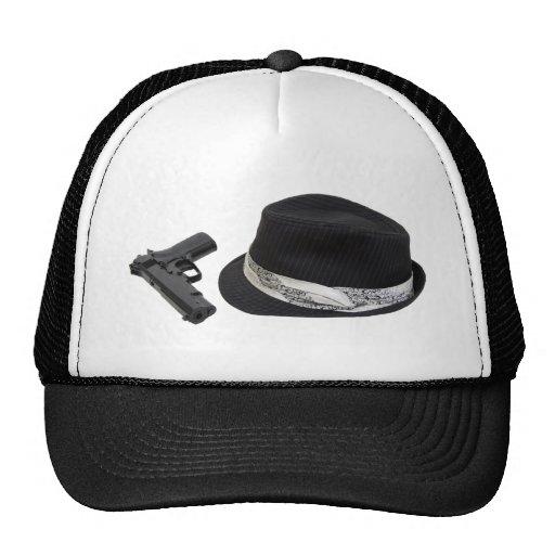 FedoraAndGun080709 copy Hats