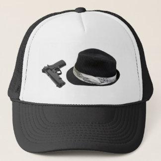 FedoraAndGun080709 copy Trucker Hat