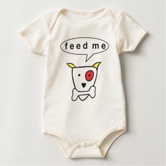 """Feed Me Baby Bodysuit"