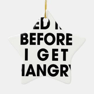 Feed Me Christmas Ornament