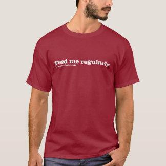 Feed me regularly, by conradicaldesigns.com T-Shirt
