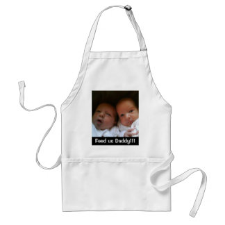 Feed us Daddy!!! Standard Apron