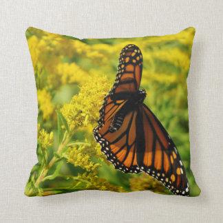 Feeding Monarch Cushion