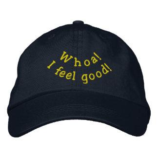 Feel Good hat Embroidered Baseball Caps