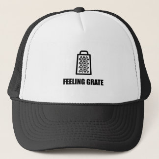 Feeling Cheese Grater Trucker Hat