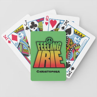 Feeling Irie Poker Deck