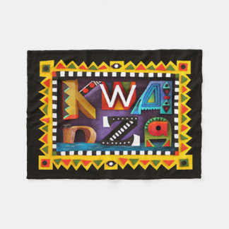 Feeling Kwanzaa Kwanzaa Fleece Blanket